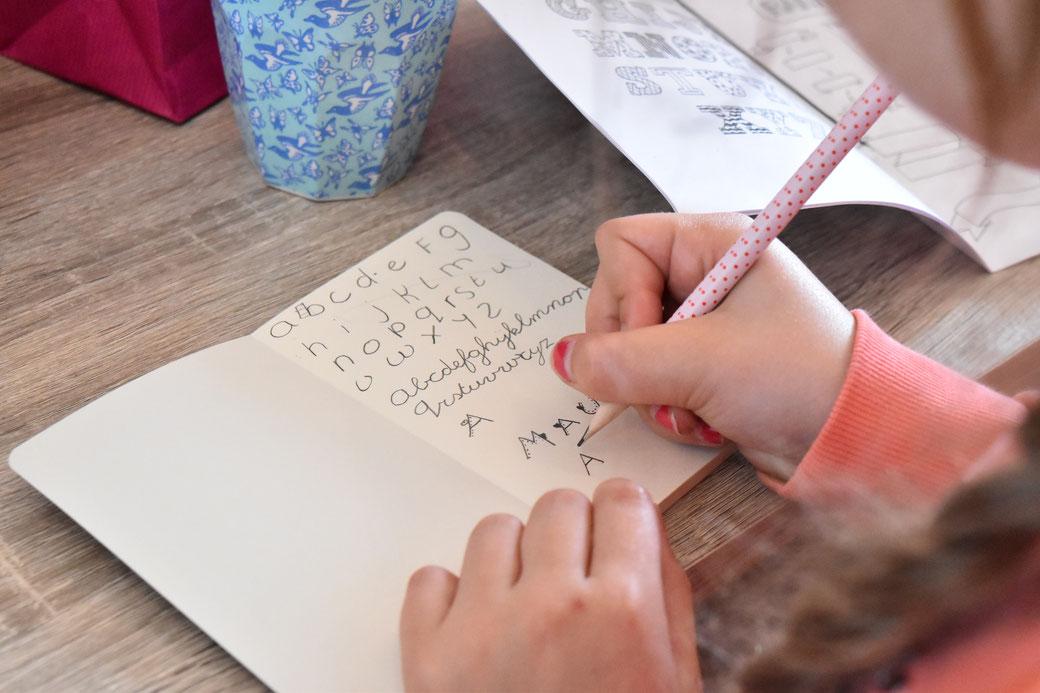 handletteren lisse workshop handlettering voor kinderen