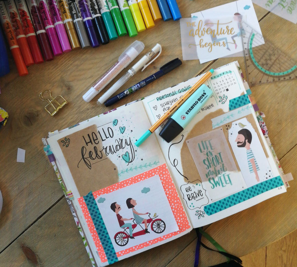 workshop bullet journaling monthly spread