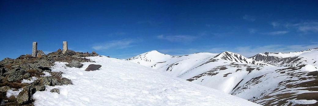 Cerdanya - Raquetes de neu - Turó del Punçó - Aransa