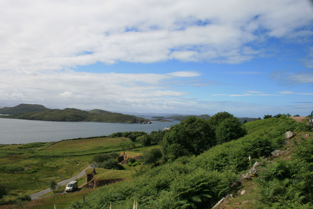 Achiltibuie, Brochs of Coigach