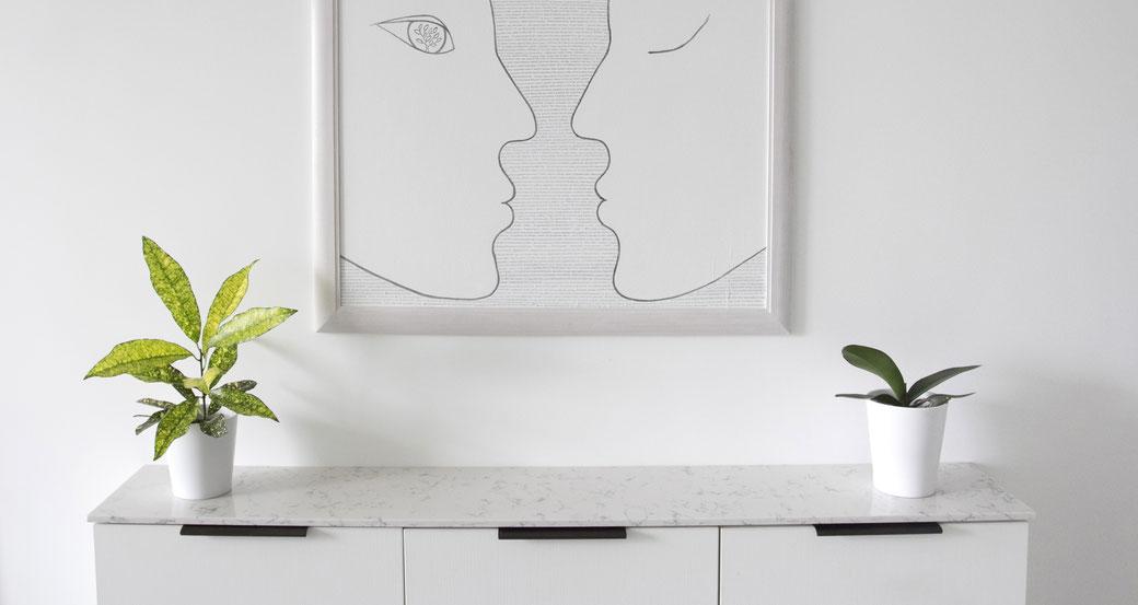 Kvarcinio akmens paviršiai suteikia erdvėms elegancijos ir yra ypač praktiški