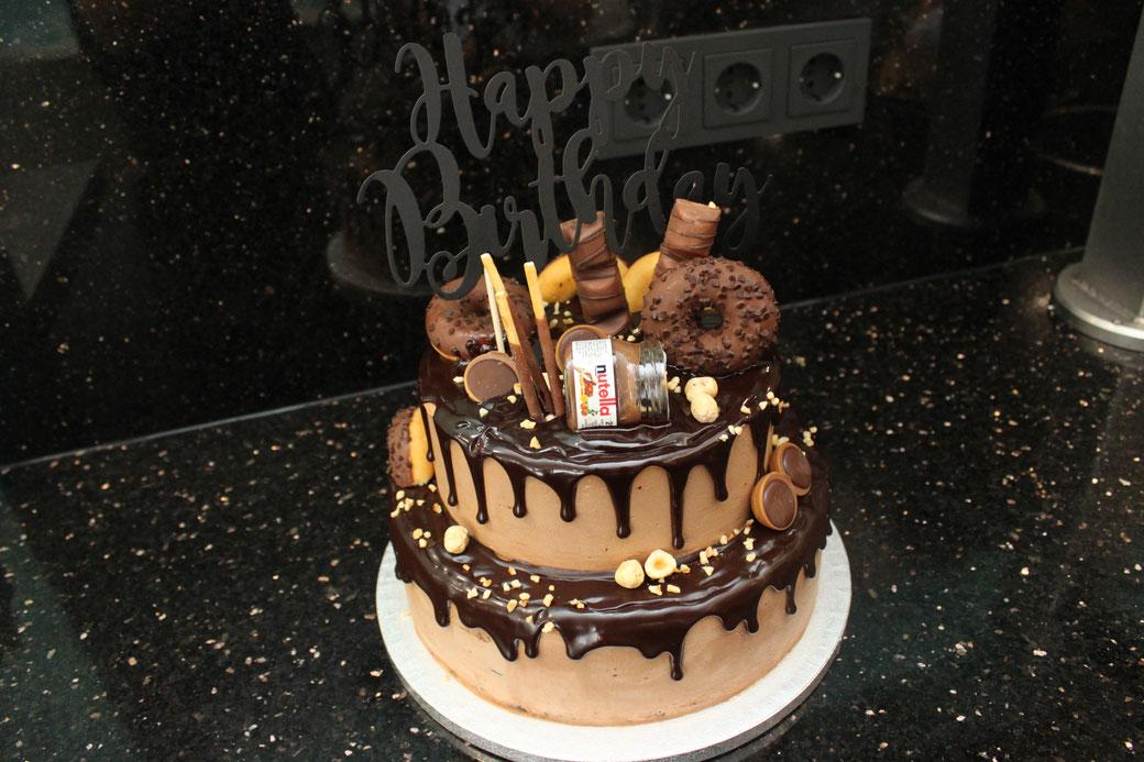 Geburtstags Eistorte