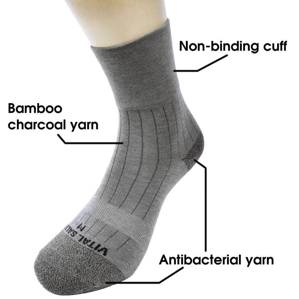 Dress Socks (Light Gray)
