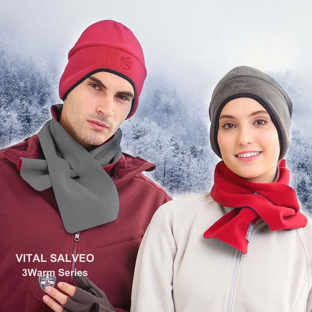 3WARM Windproof Short Scarf