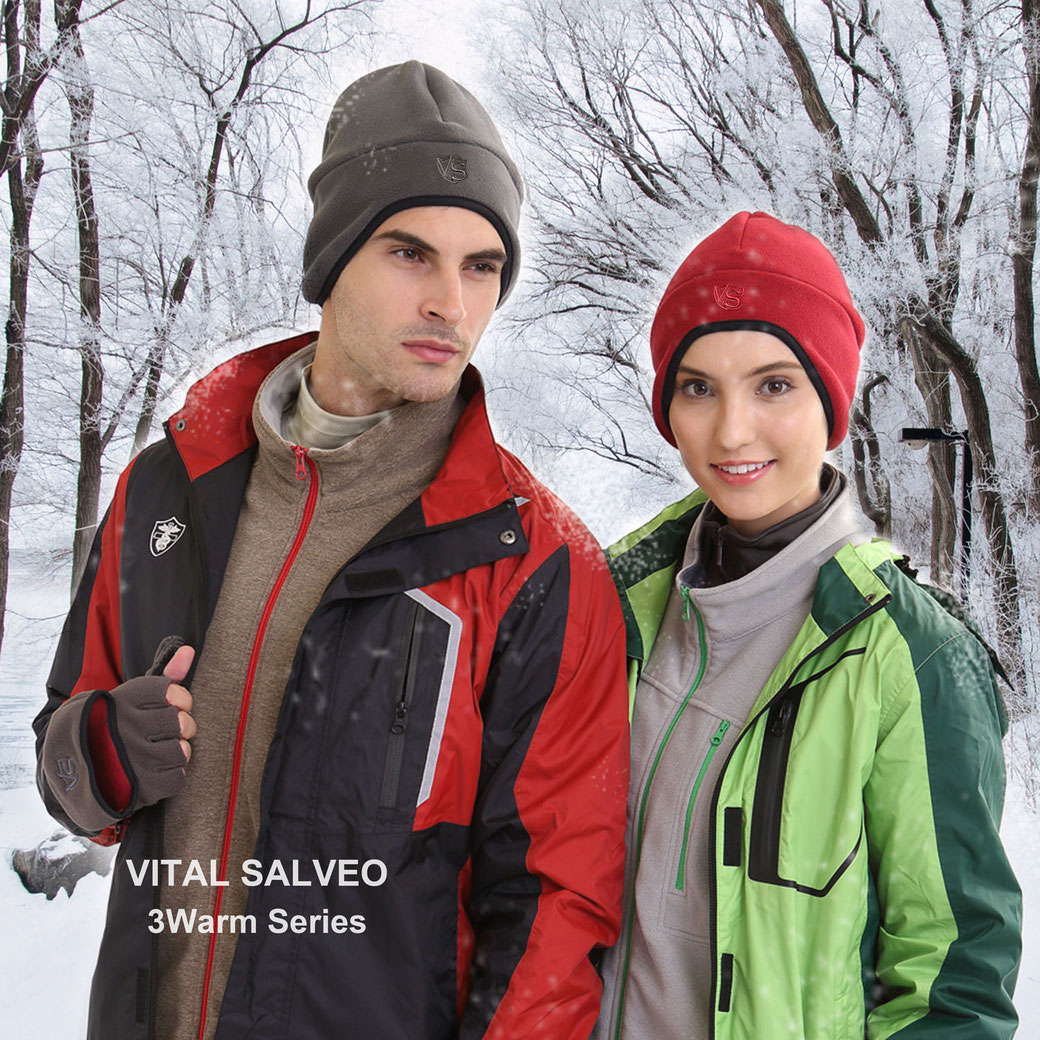 3WARM-Windproof Earflap Beanie/Skullies