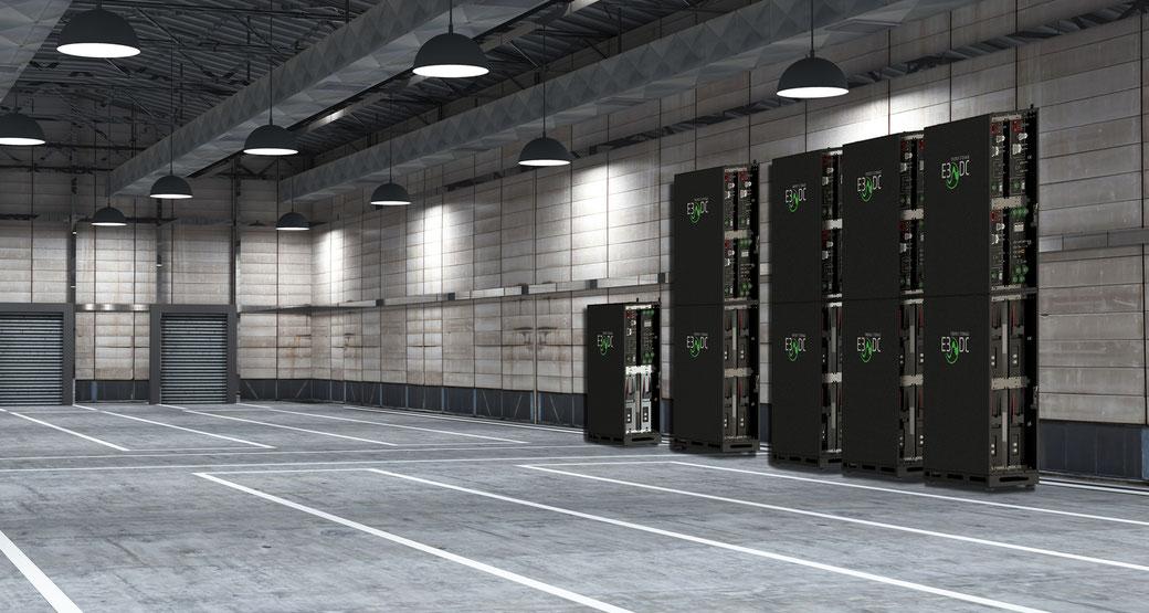 Quattroporte von E3DC die modulare Erweiterung