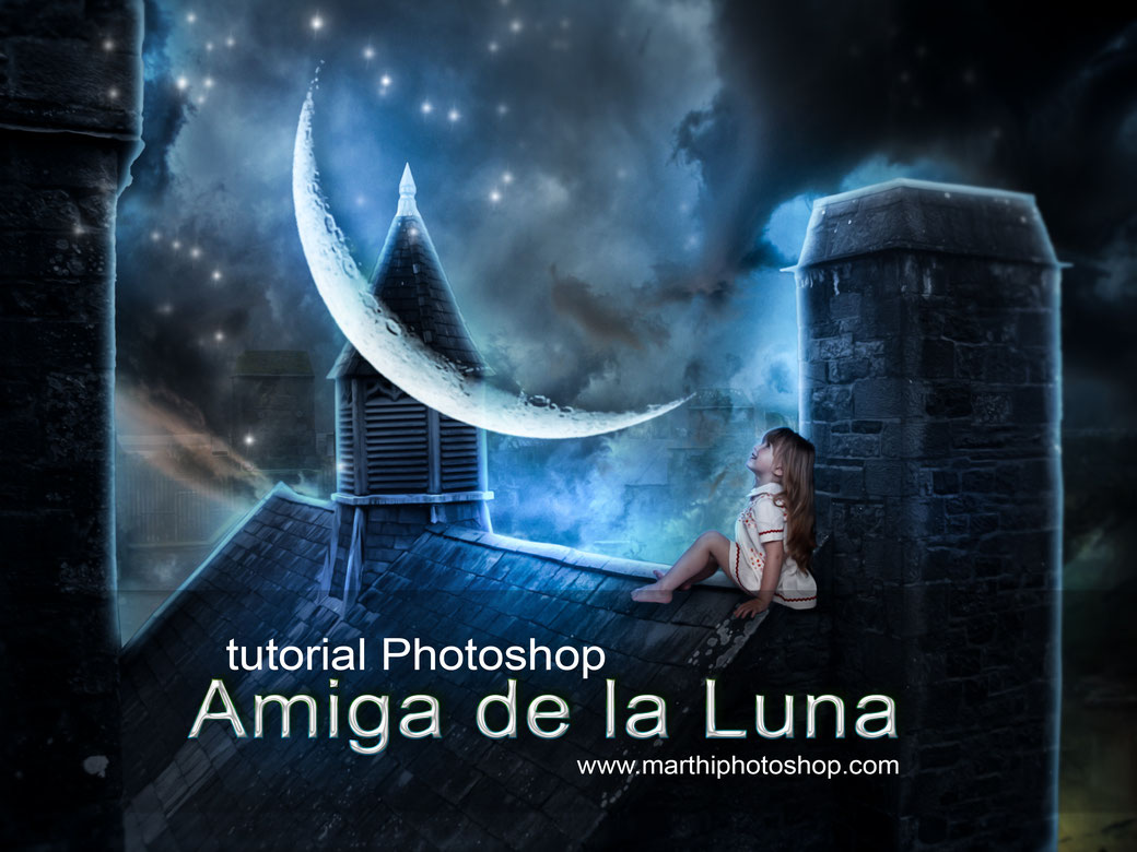"tutorial Ps ""Amiga de la Luna"""