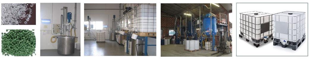 processus de traitement et de fabrication d'une formulation chimique : du sourcing à la livraison