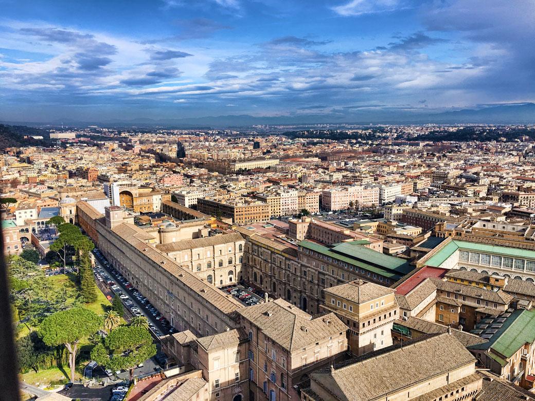 Vatikan von oben