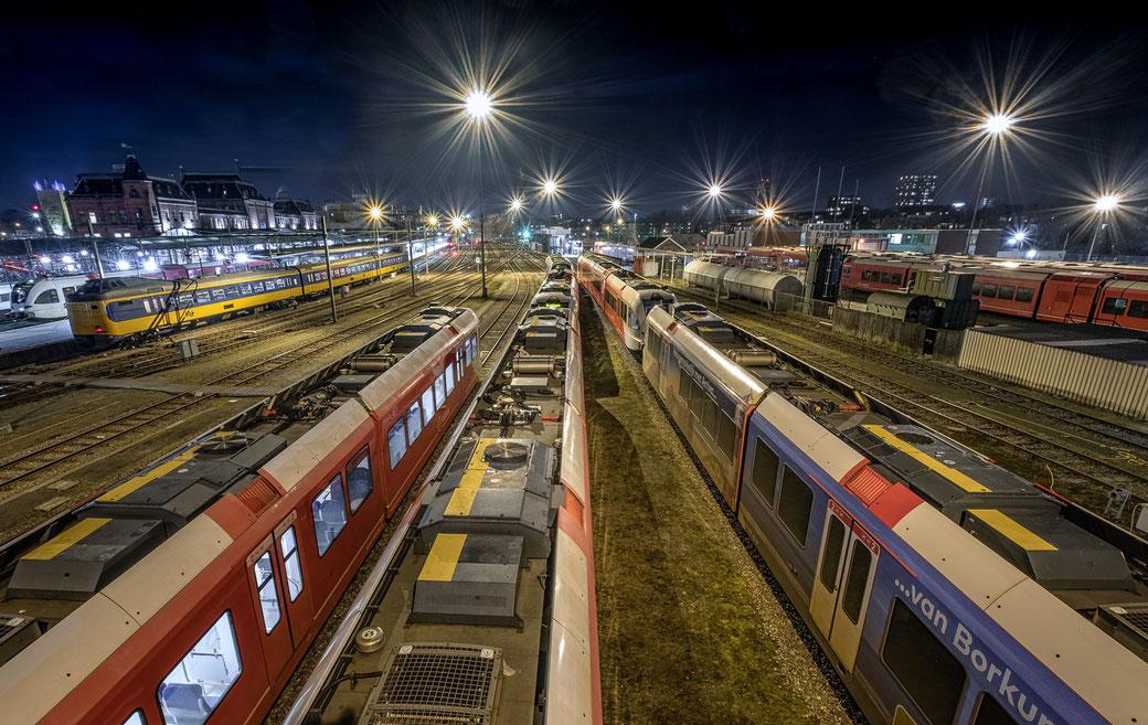 Station Groningen nightphotography