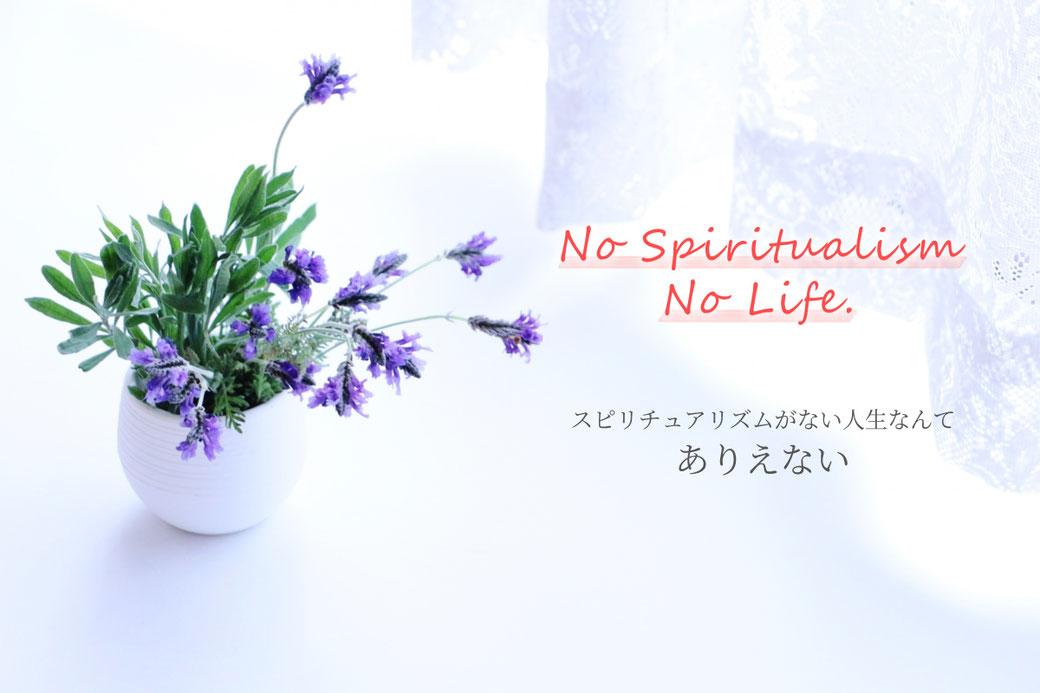 No Spiritualism No Life. ~スピリチュアリズムがない人生なんてありえない~