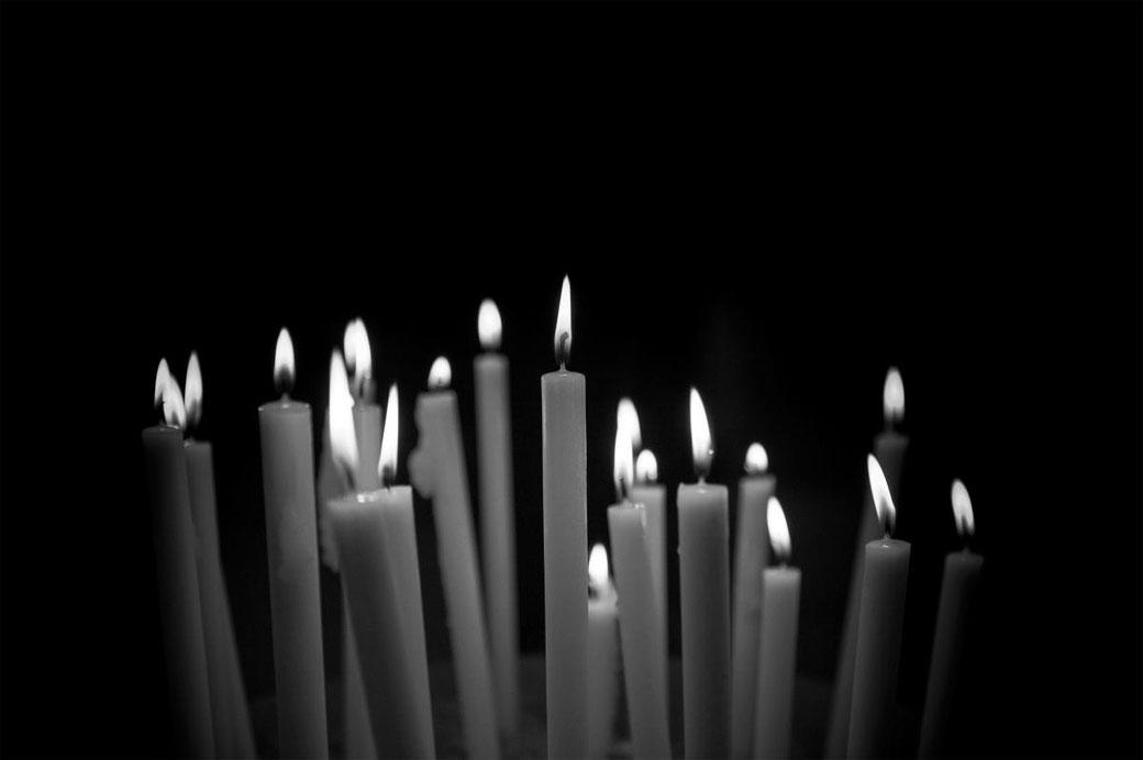 Kerzenschein Bild