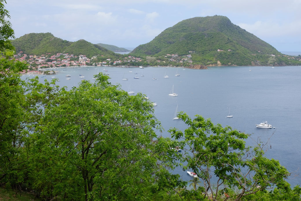 Blick auf die Bucht vor Bourg des Saintes