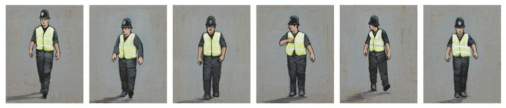 EINE UNRUHE HIER | (6x) 24 x 30 cm | Jan 13