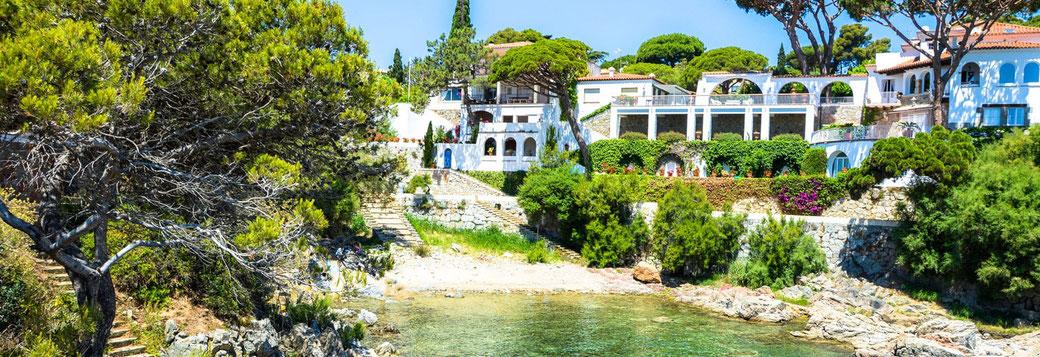 Location de vacances dans les plus beaux endroits de la Costa Brava avec l'agence ab-villa