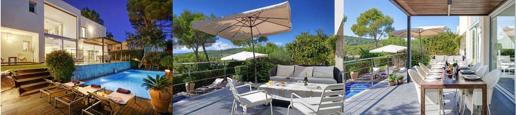 Belle villa à louer sur la Costa Brava avec l'agence ab-villa