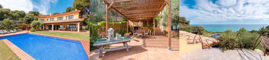 Belle villa à louer en Espagne en bord de mer avec piscine privée. Les plus belles villas à louer en Espagne pour les vacances.