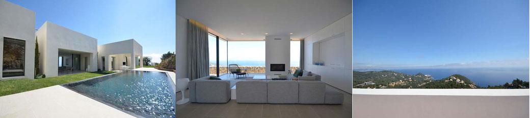 Location de prestige pour les vacances à Begur, villa de luxe Begur
