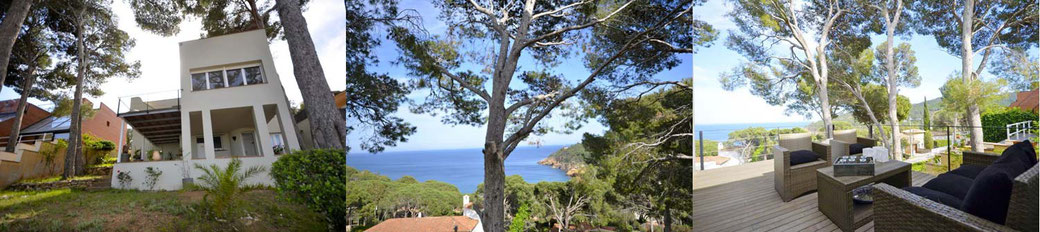 Location villa Begur costa brava pour 6 personnes.