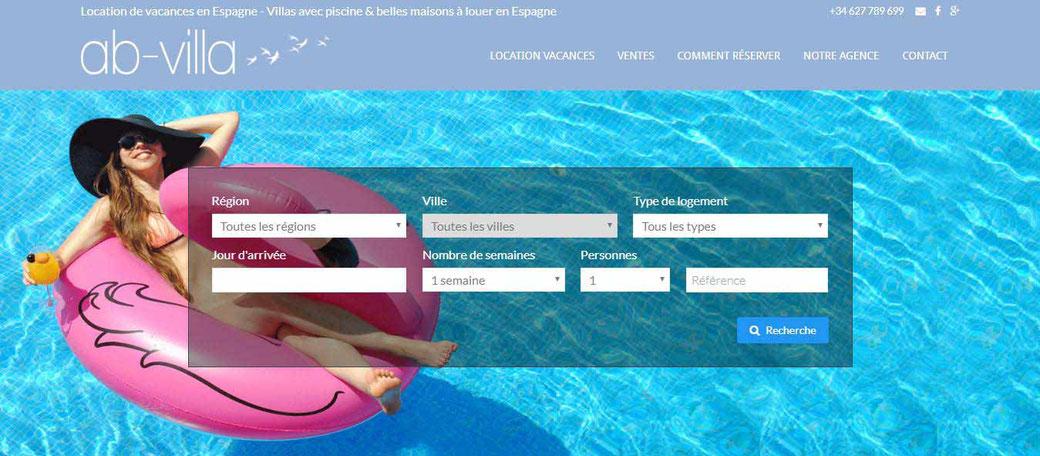 Agence de location de vacances en Espagne sur la Costa Brava, agence immobilière.