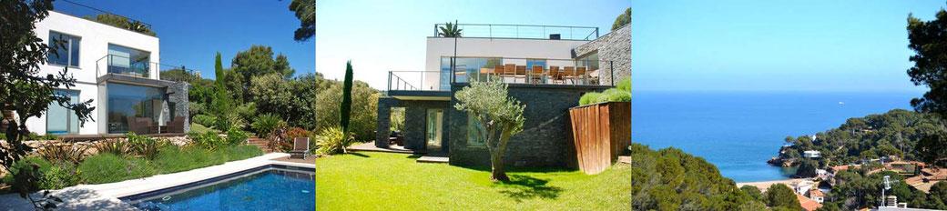 Location villa vacances Begur pour 8 personnes avec piscine
