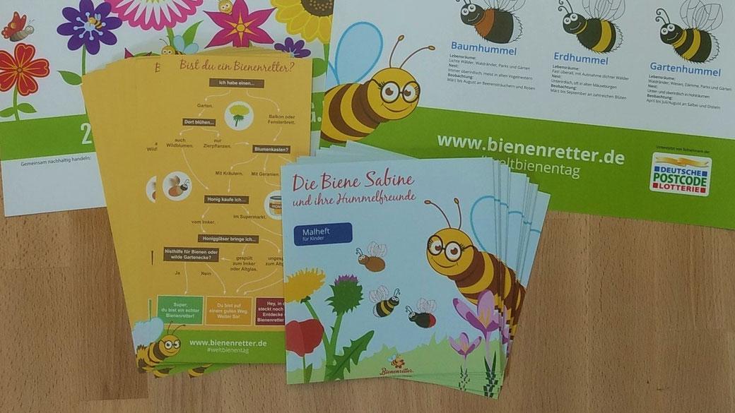 Hummelfreunde Set Bienenretter zum Weltbienentag 2020
