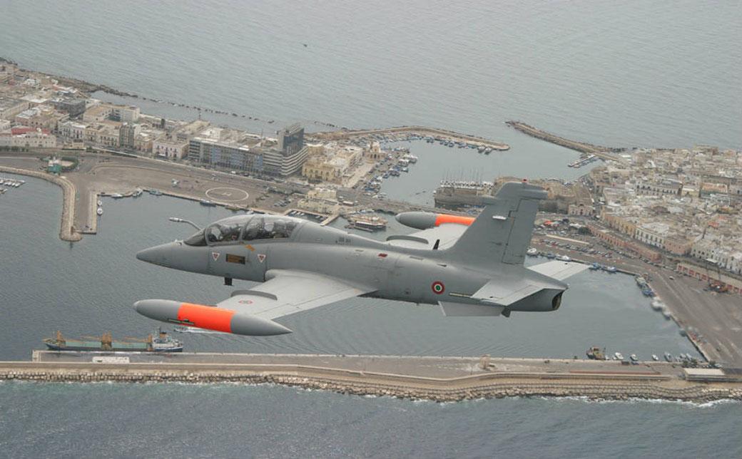 Aermacchi MB-339CD / © Aeronautica Militare.