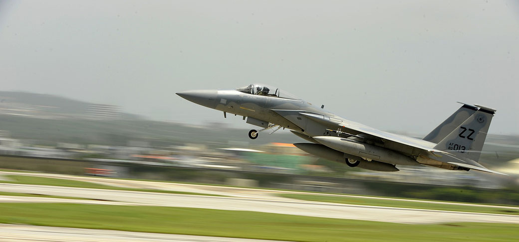 Boeing F-15C Eagle - 44Th Fighter Squadron, Kadena AFB (Giappone) / © USAF