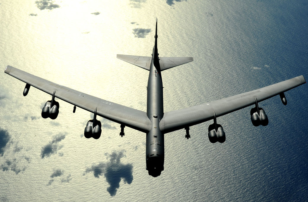 Boeing B-52 Stratofortress. (Foto. Boeing)