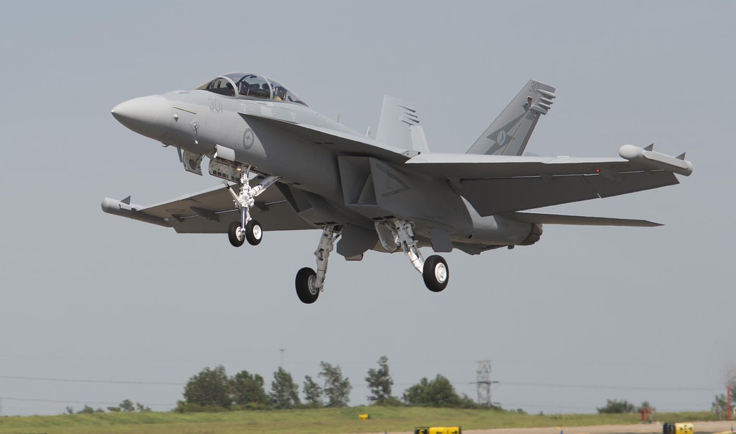 """Boeing EA-18G """"Growler"""" / © Boeing"""