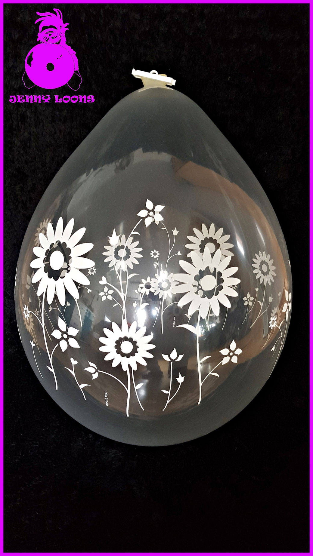 Verpackungsballon Blumenwiese - Stuffer balloon Flower Garden