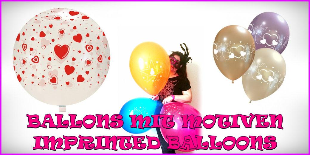 Ballons mit Motiven / Imprinted Balloons