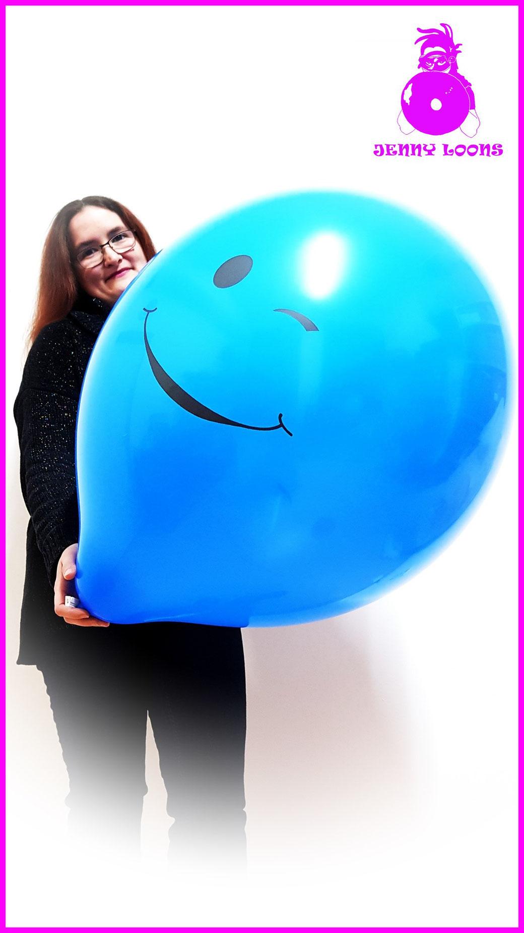TUFTEX TUF-TEX Riesenballon Smiley Face Überraschung Riesenluftballons