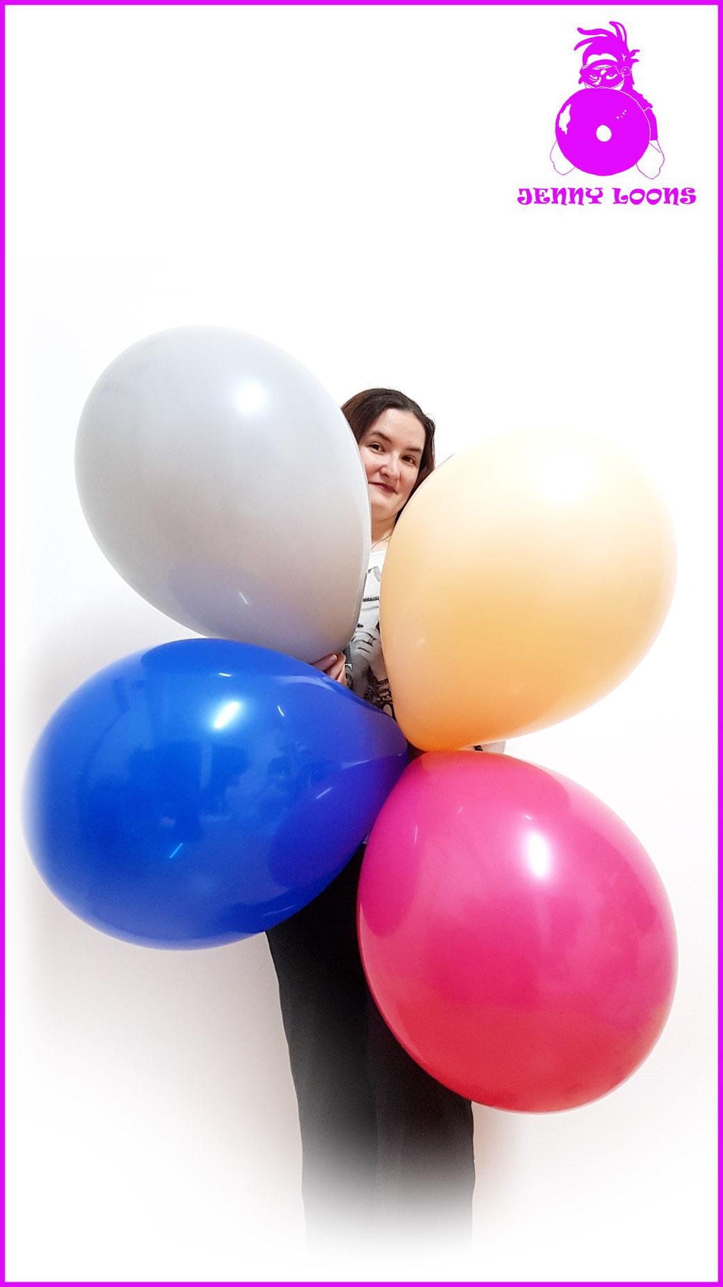 Qualatex Luftballon Ballon Multipack 16inch 40cm rot gelb orange lila blau grün red yellow blue green Balloon Balloons