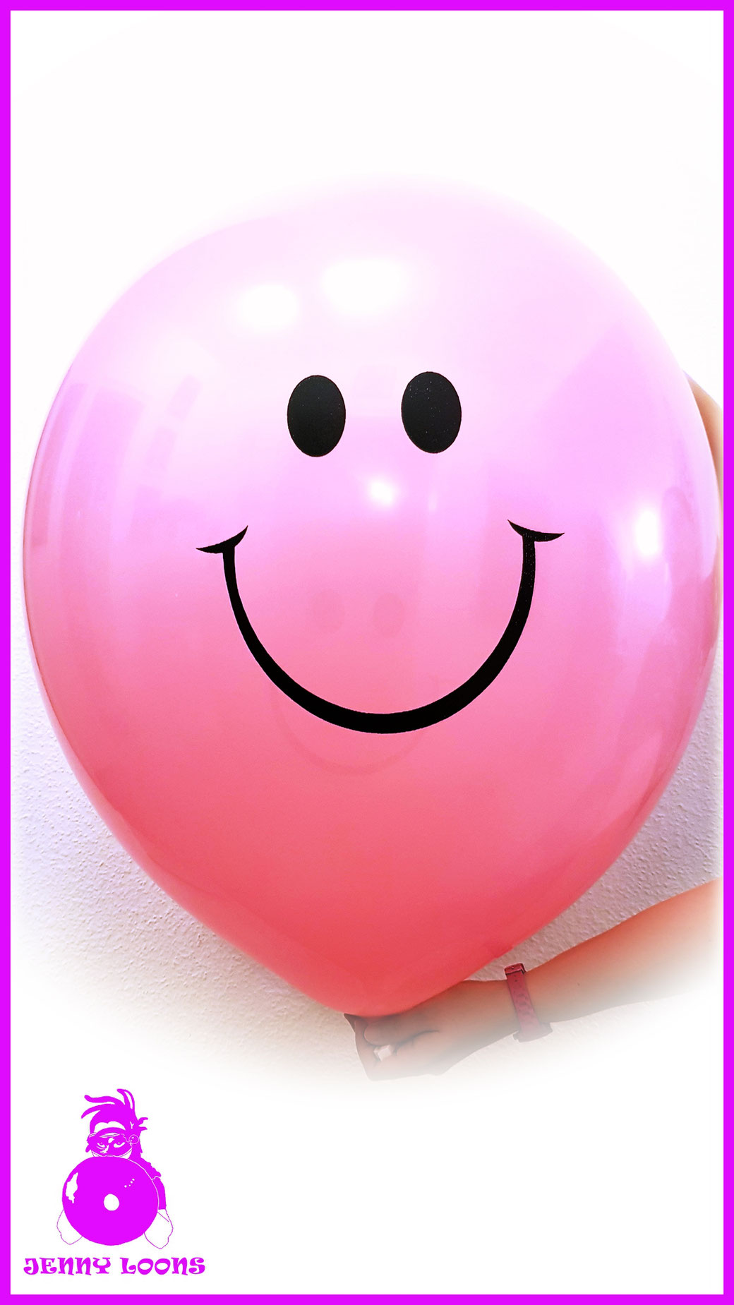 "TUFTEX 24"" SMILEY FACE Luftballon Balloon"
