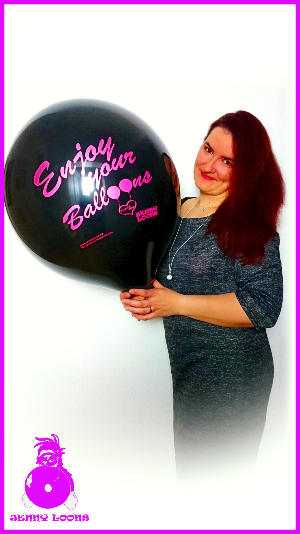 "CATTEX 16"" Enjoy your Balloons Made in EU - Italy - JENNY LOONS"