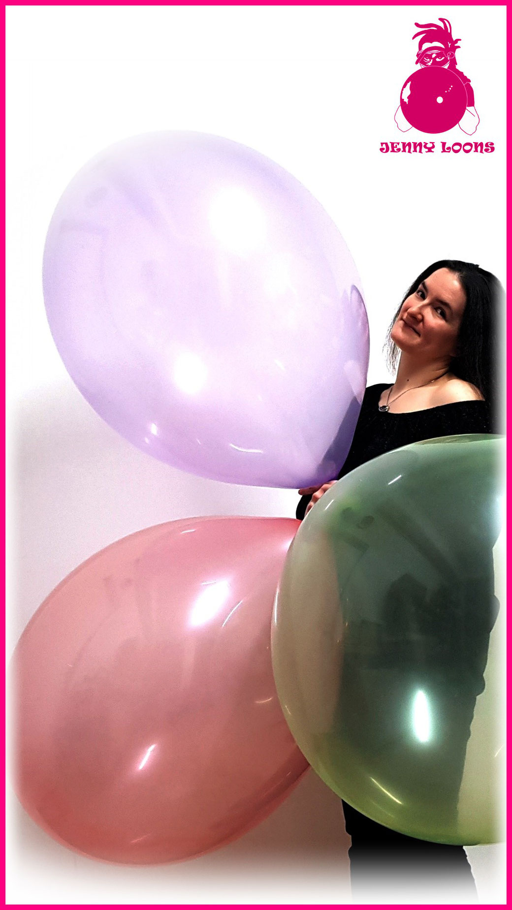 "CATTEX 32"" inch 80cm Riesenballons giant ballon balloon JENNY LOONS Crystal Kristall Exclusive Limited Exklusiv limitiert Looner"