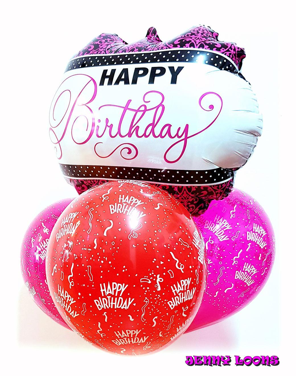 Ballonbouquets Bouquets Ballons Luftballons Geburtstag