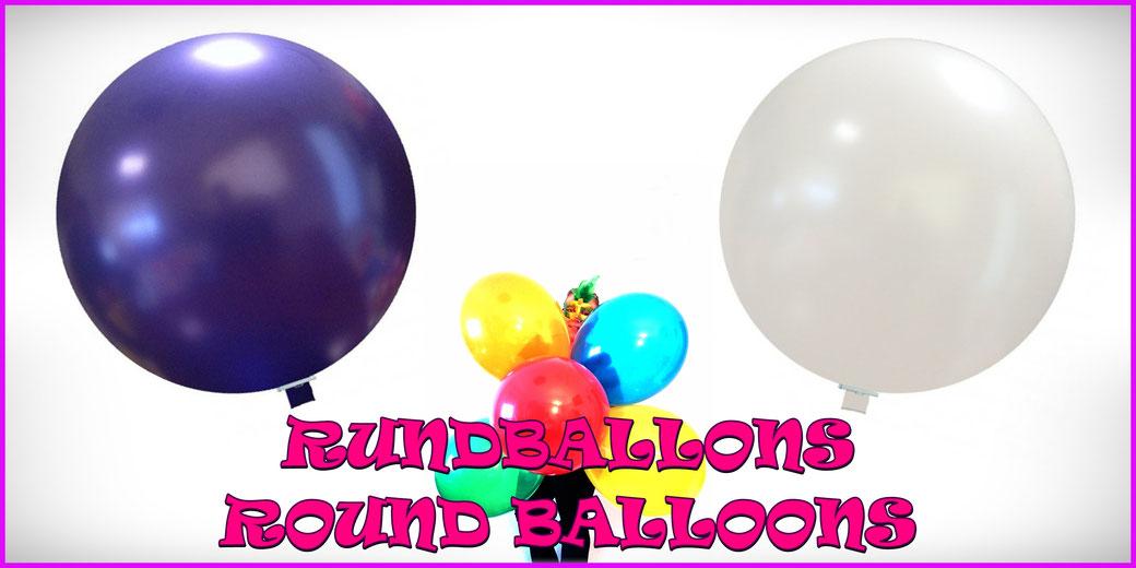 Rundballons / Round balloons