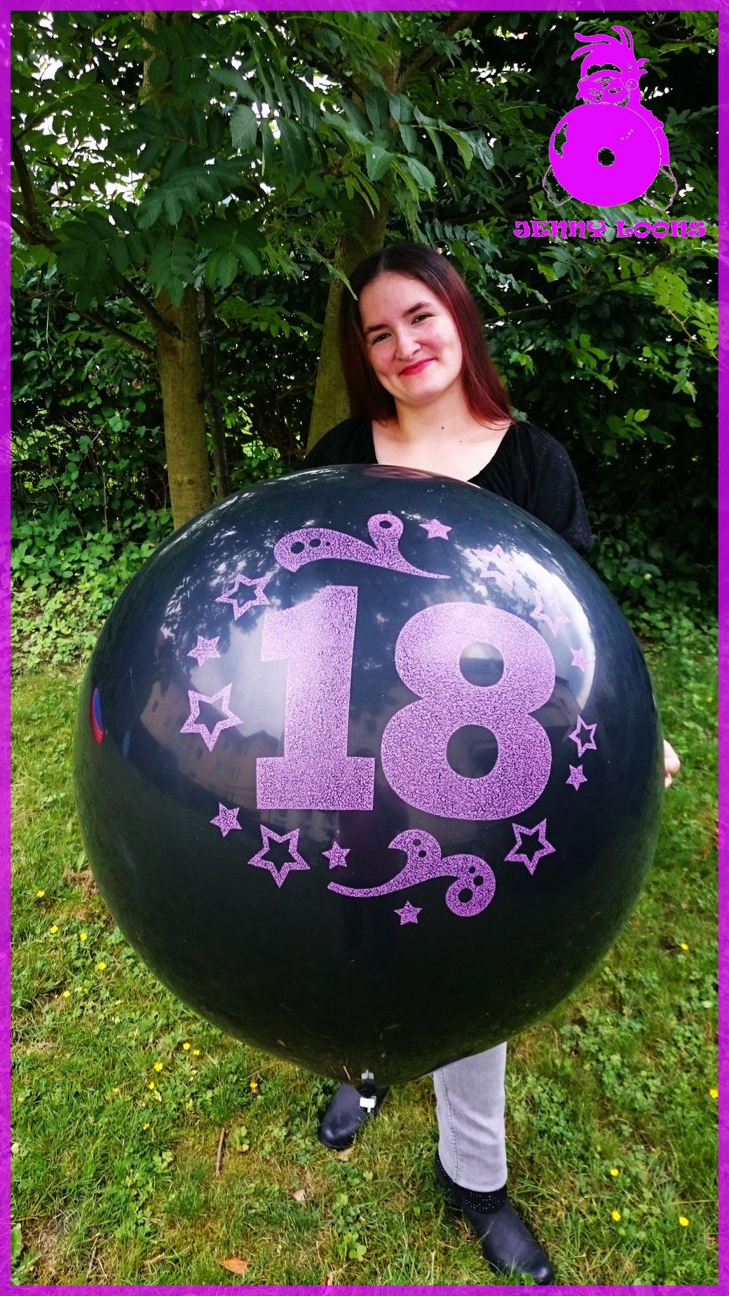 """CATTEX 32"""" SPARKLE """"18"""" - 18. Geburtstag - 18th Birthday"""