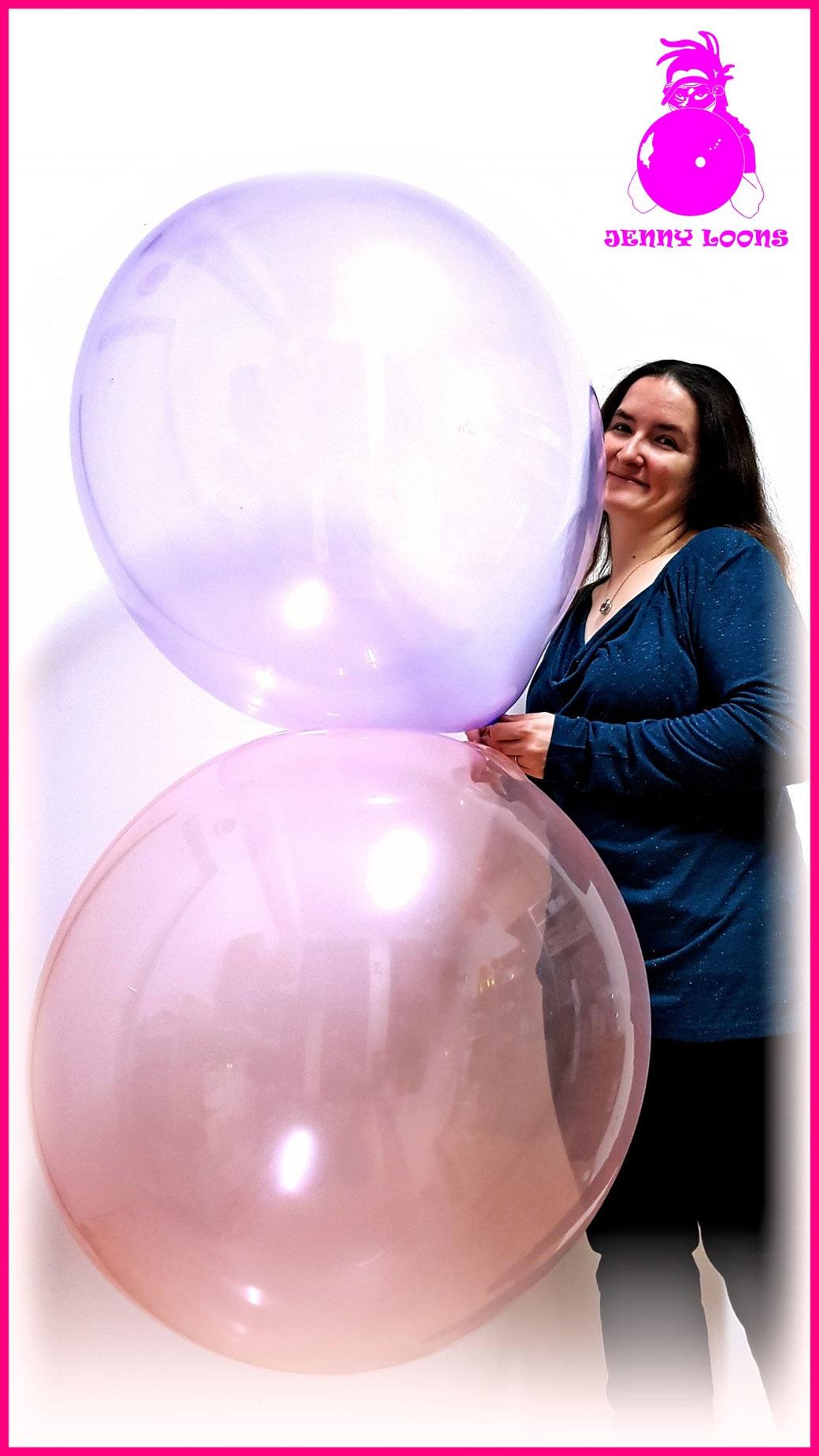 UNIQUE MEXICO 24inch Luftballon Balloon Riesenballon Giant balloon Macaroon colors bubble soap colours