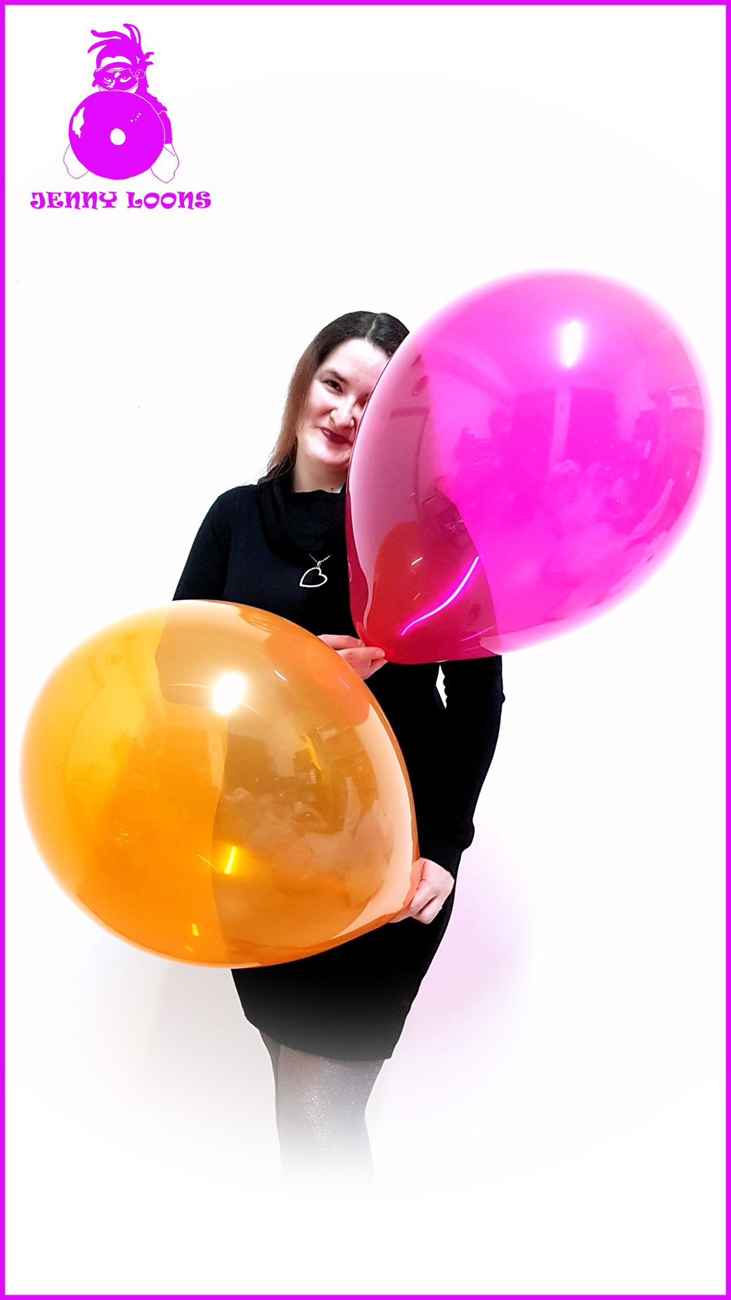 Qualatex Luftballon Ballon Kristall Crystal 16inch 40cm Looner pink orange purple Balloon Balloons