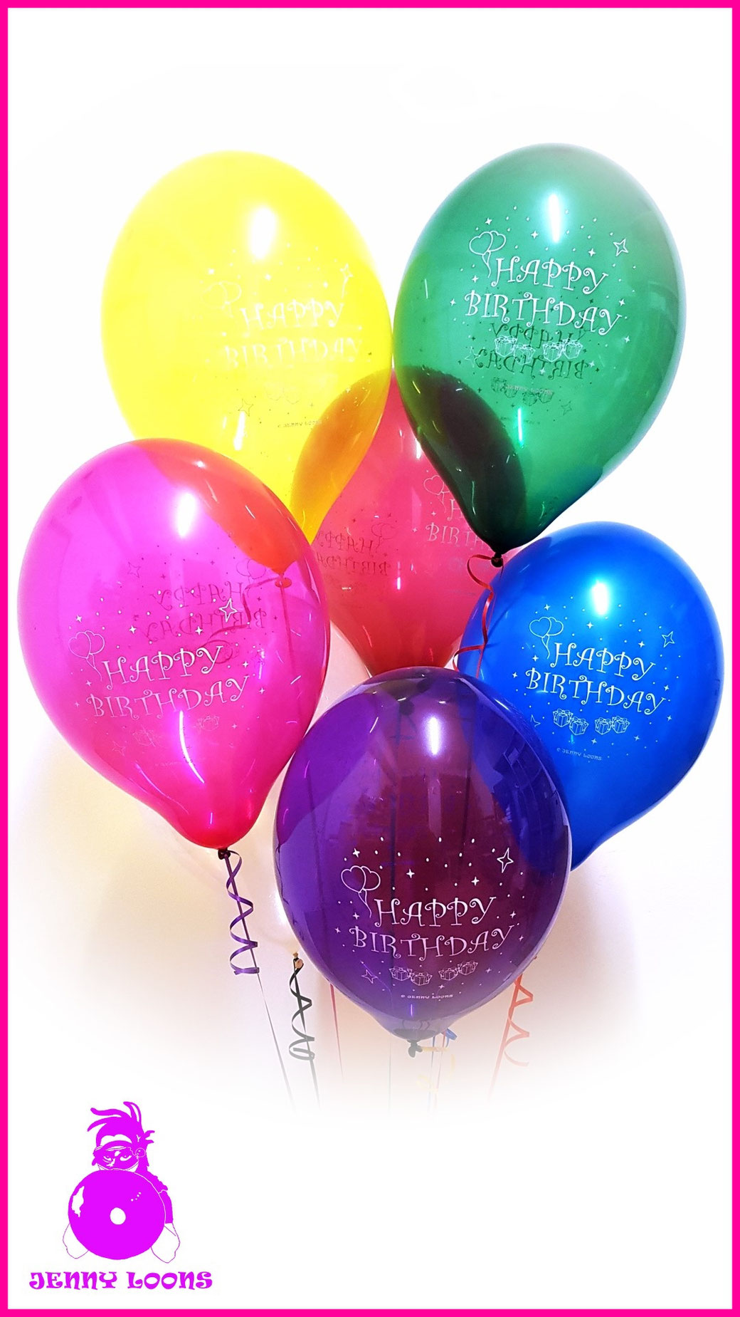 "Balbal Luftballon Balloon B120 14"" 36cm Happy Birthday"