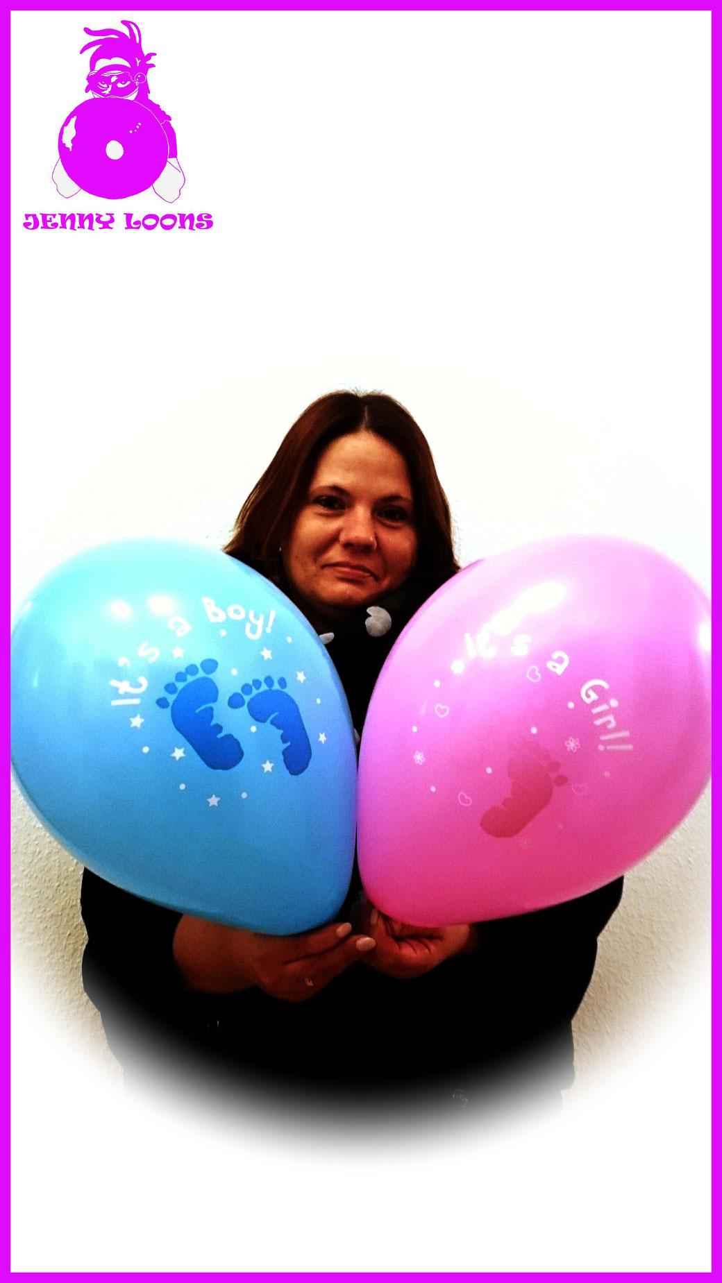 """CATTEX 11 """" Ballon Boy / Girl - Junge / Mädchen"""