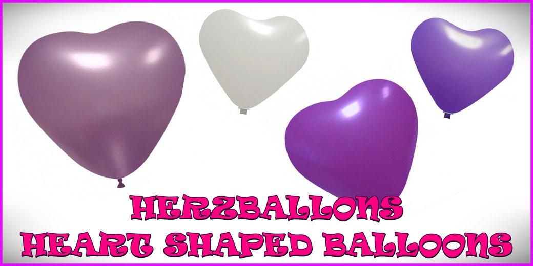 Herzballons / Heart shaped balloons