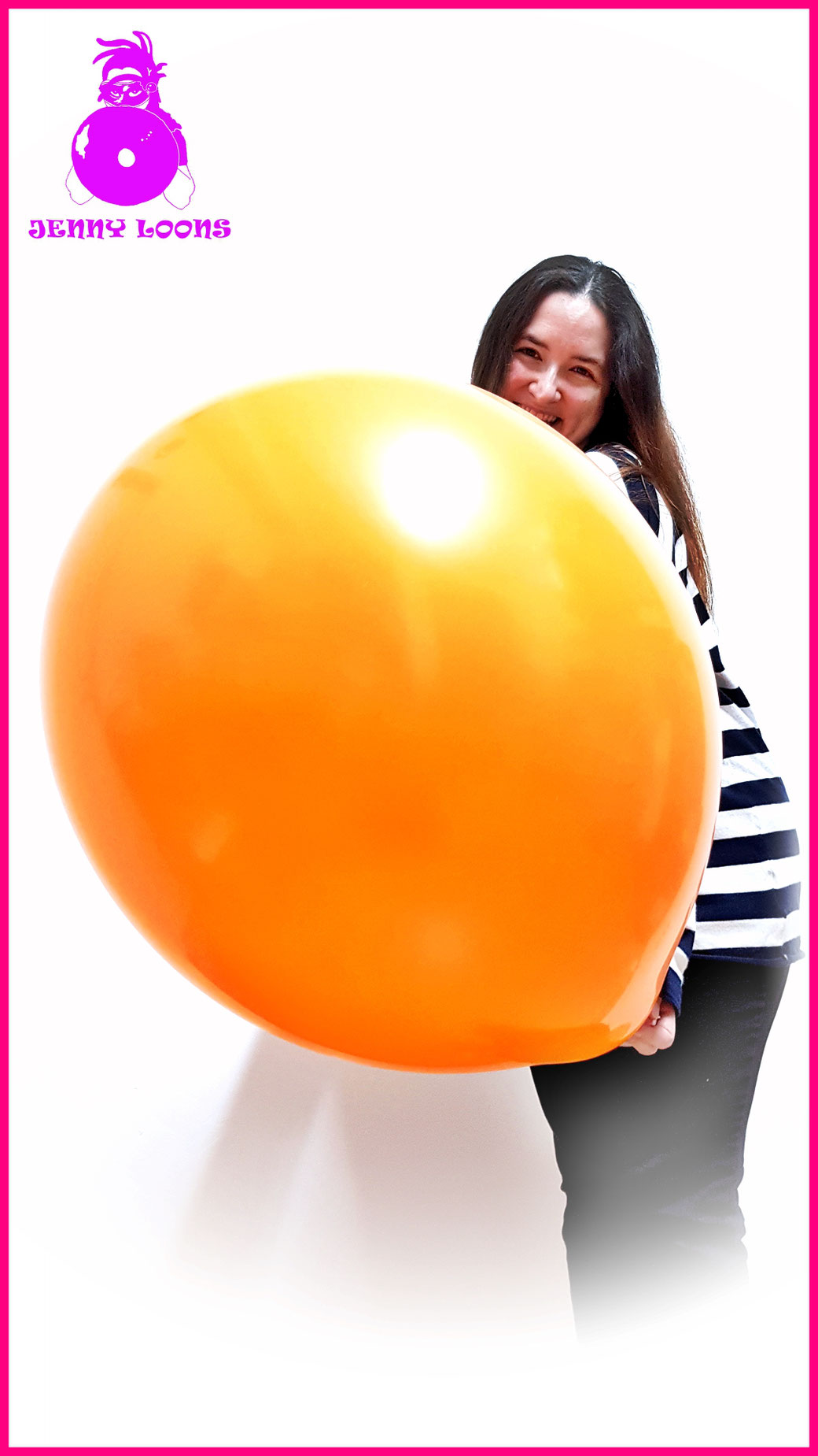 "TUFTEX TUF-TEX Luftballons Riesenballons Ballons Balloons 24inch 24"" 60cm Riese Giant Looner Standard colors orange fun party Hameln Ballonshop Heliumballons"
