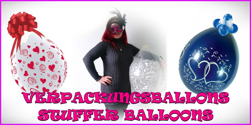Verpackungsballons / Stuffer Balloons