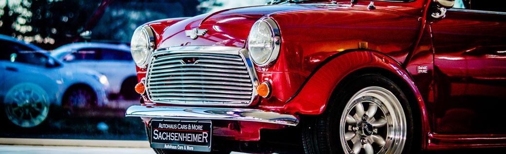 Autohaus Cars & More Sachsenheimer Gebrauchtwagen Mini 1000 MK2 Cabrio Oldtimer
