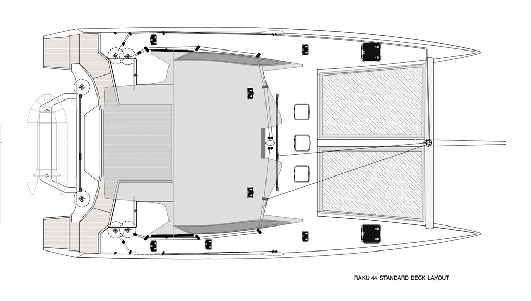 Raku 44 Standard Deck Layout