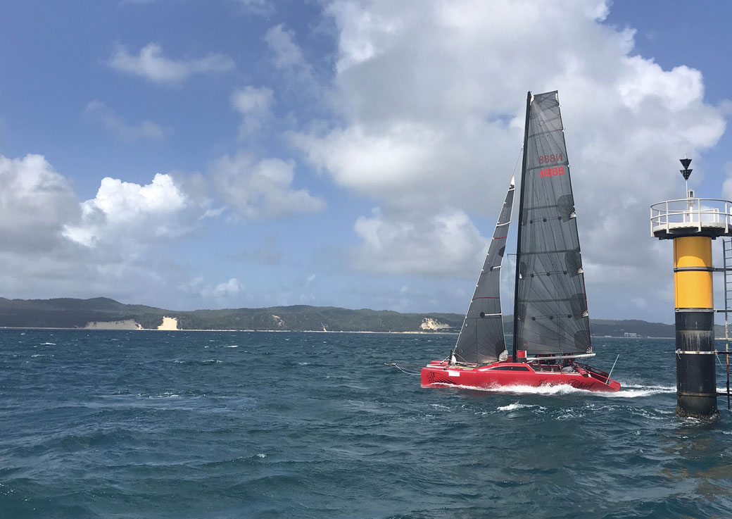 Raider Catamaran Brisbane to Gladstone Race